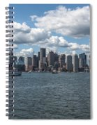 Boston Skyline Spiral Notebook