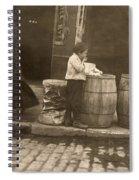 Boston: Slums, 1909 Spiral Notebook