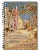 Boston Street Scene. Boston Common Spiral Notebook