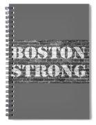 Boston Strong Spiral Notebook