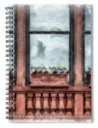 Boston Strong Memorial Back Bay Spiral Notebook