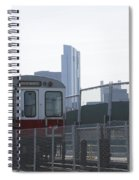 Boston Subway The T Spiral Notebook
