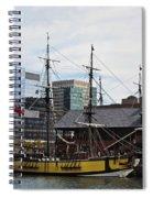 Boston Tea Party 14bos045 Spiral Notebook