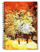 Boston Winter Spiral Notebook