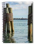 Boston's Harbor Spiral Notebook