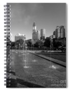 Boston's North End Fountains Spiral Notebook
