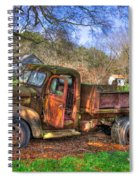 Boswell 1947 Dump Truck Farm Scene Spiral Notebook