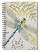 Botanical Dragonfly-jp3418b Spiral Notebook