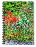 Botanical Garden Spiral Notebook
