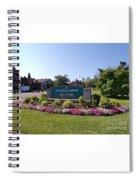 Botanical Gardens Floral Landscaped Entrance  Spiral Notebook