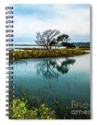 Botany Bay Marshland Spiral Notebook