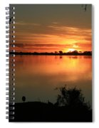 Botswanna Sunset Spiral Notebook