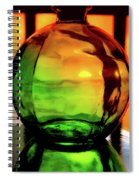 Bottle Of Sunlight Spiral Notebook