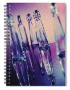 Bottle Shapes Spiral Notebook