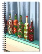 Bottled Up Spiral Notebook