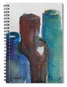 Bottles 3  Spiral Notebook
