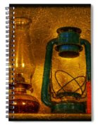 Bottles And Lamps Spiral Notebook