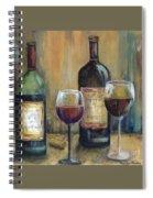Bottles Of Red Spiral Notebook