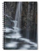 Bottom Of A Waterfall #3 Spiral Notebook