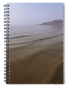 Bottom Ripples Spiral Notebook