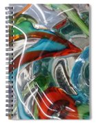 Bottoms Up 5 Spiral Notebook