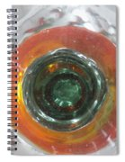 Bottoms Up 6 Spiral Notebook