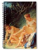Boucher: Diana Bathing Spiral Notebook
