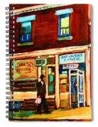 Boulangerie Cachere Spiral Notebook