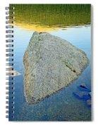 Boulder At Echo Lake Spiral Notebook