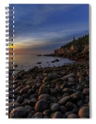Boulder Beach Sunrise Spiral Notebook