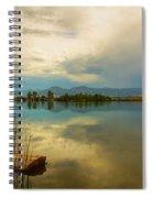 Boulder County Colorado Calm Before The Storm Spiral Notebook