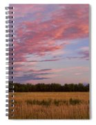 Boulder County Colorado Country Sunset Spiral Notebook