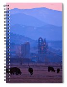Boulder County Industry Meets Country Spiral Notebook