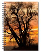 Boulder  County Sunset Spiral Notebook