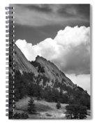 Boulder Flatirons 2 Spiral Notebook