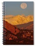 Boulder Moonrise Spiral Notebook