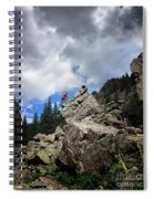 Bouldering On The Flint Creek Trail - Weminuche Wilderness Spiral Notebook