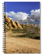 Boulders At Apple Valley Spiral Notebook