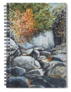 Boulders At Purgatory Chasm Spiral Notebook