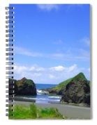 Boulders In Oregon Spiral Notebook