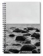 Boulders In The Ocean Spiral Notebook