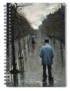 Boulevard Des Batignolles Spiral Notebook