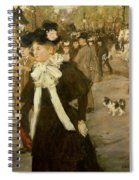Boulevard Des Italiens  Spiral Notebook