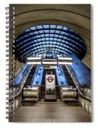 Bound For The Underground Spiral Notebook