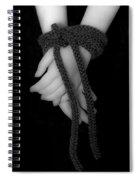 Bound Hands Spiral Notebook