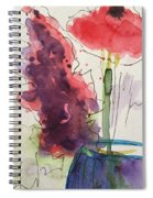 Bouquet Abstract 1 Spiral Notebook