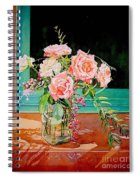 Bouquet De Roses - Marrakech Spiral Notebook