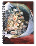Bouquet In A Theater Box Spiral Notebook