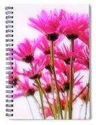 Bouquet Of Chrysanthemums Spiral Notebook