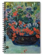 Bouquet Of Flowers Spiral Notebook